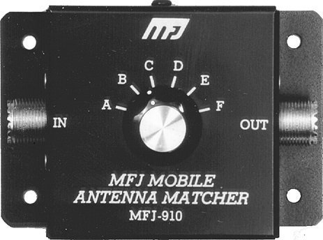 MFJ Enterprises Original MFJ-910 Mobile Antenna Matcher 10-80 Meters