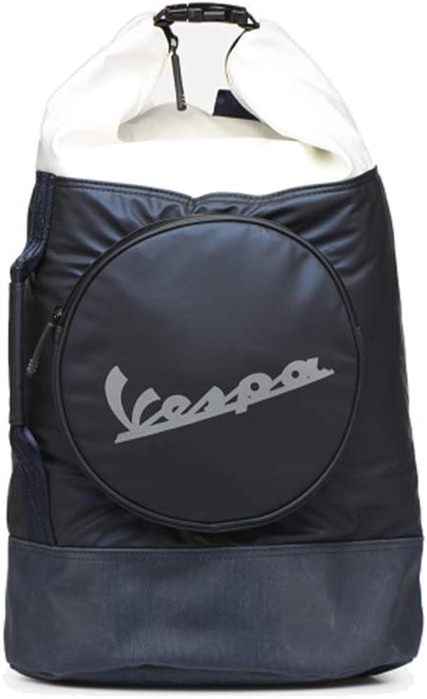 Vespa Footwear V00065 - Bolsa de playa de Sintético Hombre Azul Azul (blu 7110) 26x52x33 cm (W x H x L)