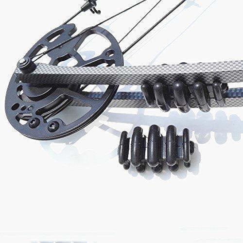 Compound Bow Limb Dampener 2/Pack Archery Bow Accessory Limb Savers ()