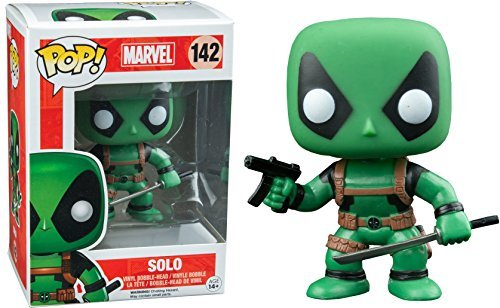 Funko Marvel Deadpool Solo Pop Vinyl Exclusive No.142