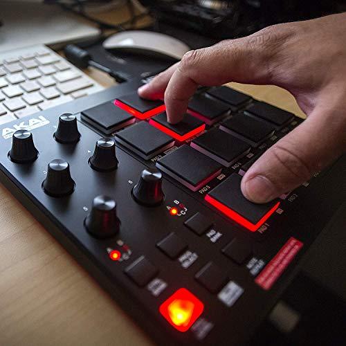 Akai Professional MPD218 | MIDI Drum Pad Controller with Akai MPK