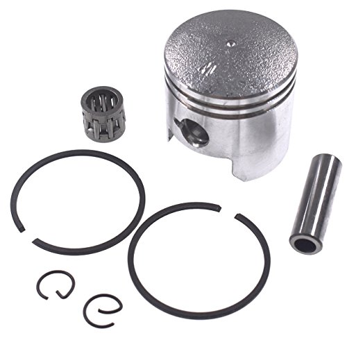 JRL 47cc Piston Kit 40mm Wrist Pin 10MM For Mini Pocket Bike MTA1 (Pocket Bike Piston)