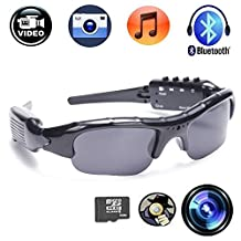 CFY Sunglasses Camera With Bluetooth Spy Camera Sports Polarized Glasses Protective Glasses 720P Video Recorder Support Micro SD Card
