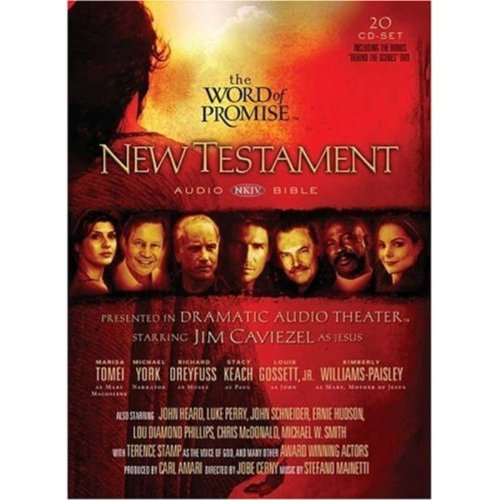 The Word of Promise: New Testament Audio Bible (Audio cd)