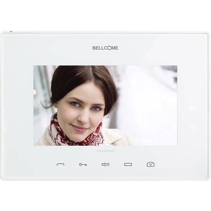 BELLCOME VTM.7S402.BLW04 Video-T/ürsprechanlage Kabelgebunden Inneneinheit 1 Familienhaus Wei/ß