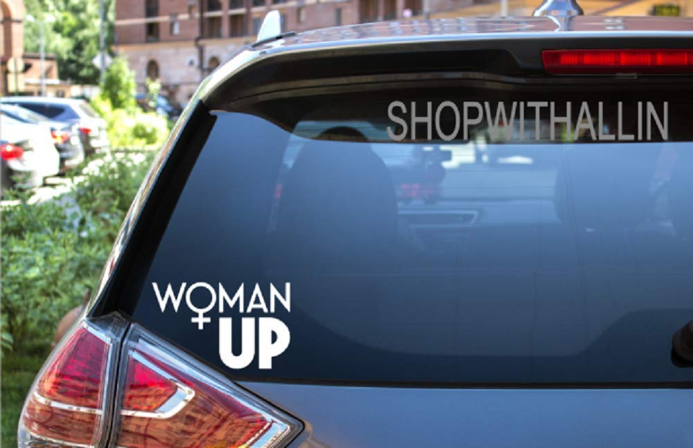 Stickers For Cars Woman Up Car Decal Outdoor Window Sticker