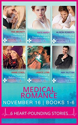 book cover of Medical Romance November 2016 Books 1-6