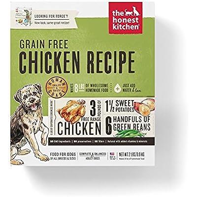 Honest Kitchen Dehydrated Grain Free Chicken Dog Food, 2 lb - Force. Grain Free Dog Food!!