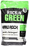 Rockin' Green Unscented Natural HE Powder Laundry Detergent for Hard Water, Perfect for Cloth Diapers, Up to 90 Loads Per Bag, 45 oz