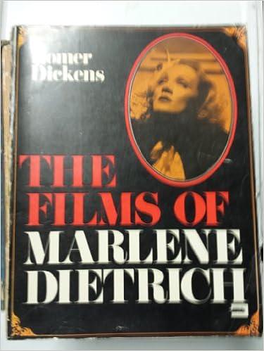 Free ebook pdf downloads The Films of Marlene Dietrich (Swedish Edition) PDF
