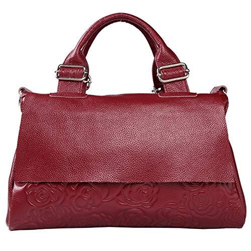 Memoria femminile delle donne Borsa diagonale semplice casuale della spalla della borsa della borsa del totalizzatore del modello della Rosa delle donne Borse a tracolla Borsa a tracolla Totes Rosso