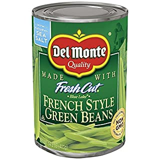 Del Monte Canned Blue Lake French Style Green Beans, 14.5-Ounce ,Pack of 12