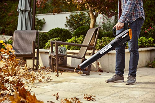 Worx WG930 20V 10 Cordless String Trimmer & TURBINE Blower Combo Kit, 2 Batteries and 1-Hr Charger