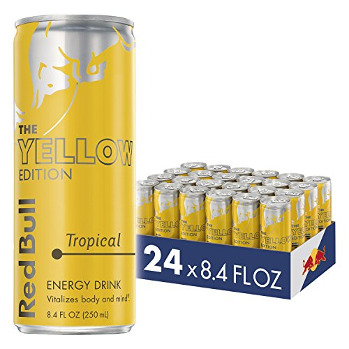 Red Bull Energy Tropical Yellow