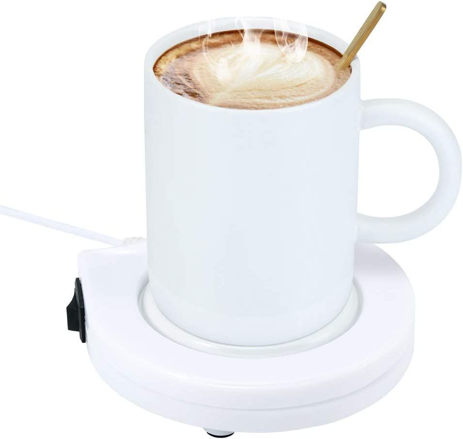 HITECHLIFE Coffee Mug Warmer,USB Electric Cup Warmer for Coffee, Tea, Milk, Drinks -Cup Beverage Warmer -Desktop Mug Warmer-Electric Coffee Warmer for Home Office Shop Use