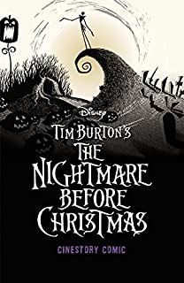 tim burtons the nightmare before christmas cinestory comic collectors edition - Nightmare Before Christmas Coloring Book