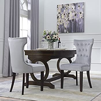 Amazon Com Belleze Premium Dining Chair Accent Living