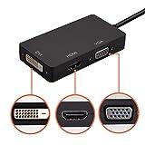 Mini Display Port DP to HDMI VGA DVI Converter For Microsoft surface pro 1 2 3 4