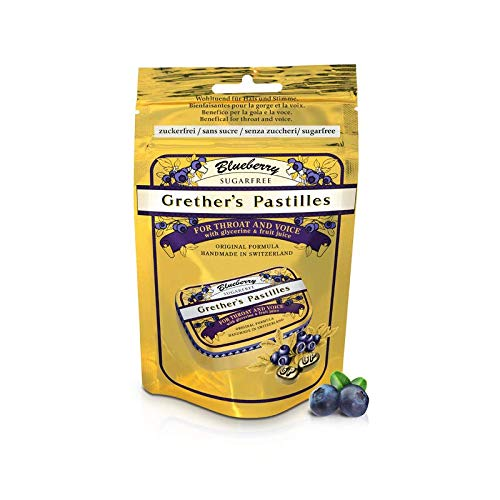 GRETHER'S Pastilles Blueberry Sugar Free 100G/3.4OZ by GRETHER'S
