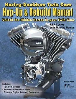 harley davidson twin cam hop up rebuild manual r r cycles rh amazon com Kohler 17.5 HP Engine Manual Generac Engine Manuals