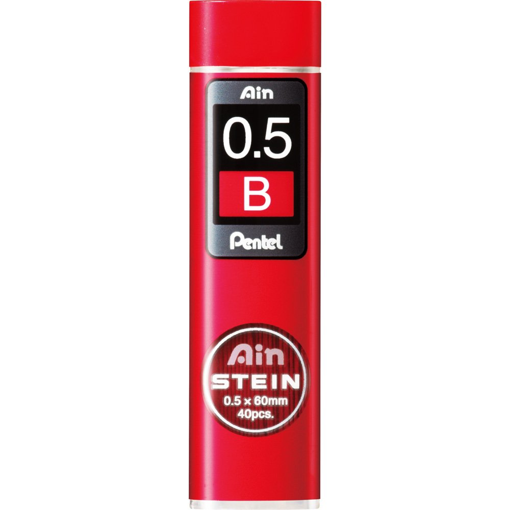 xc275b-3p Pentel Ain Stein portaminas 40/conduce X 0,5/mm B 3/unidades