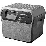 2 Built-in Carrying Handles, Waterproof and Fire Resistant File, Gray