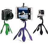 Gekkopod Tripod Mount Portable for Gopro xiaomi yi Sj4000/Holder for Smartphone, iPhone, Galaxy, and camera