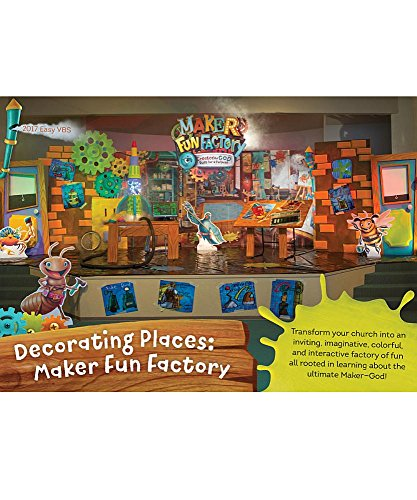 Decorating Places: Maker Fun Factory DVD (Group Easy Vbs -
