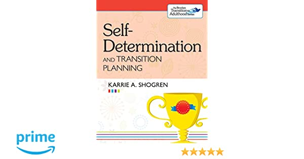 Amazon.com: Self-Determination and Transition Planning (The ...