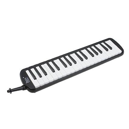 ROSENICE Órgano de Boca de 37 Teclas en Forma de Piano con Bolsa de Transporte para