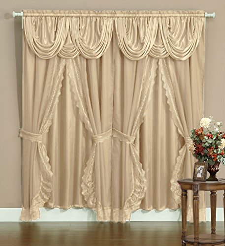 Victorian Style Bombay Curtain Set 120