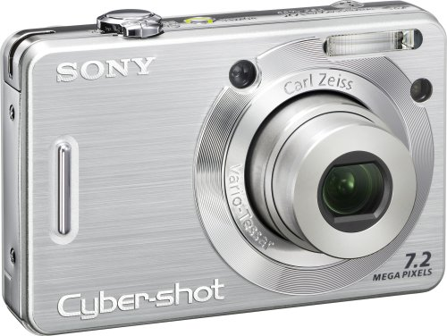 sony camera cybershot. amazon.com : sony cybershot dscw55 7.2mp digital camera with 3x optical zoom (silver) (old model) point and shoot cameras \u0026 photo