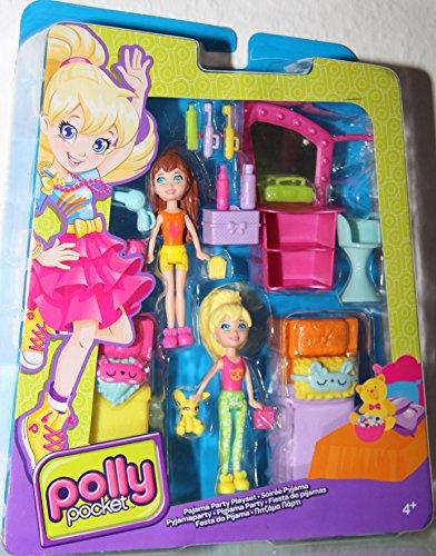 Polly Pocket - Pyjamaparty / Pajama Party Playset - Polly & Lila - BGY02 - Mattel by Polly Pocket