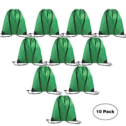 LIHI Bag Nylon Basic Promotional Bulk Drawstring Backpack