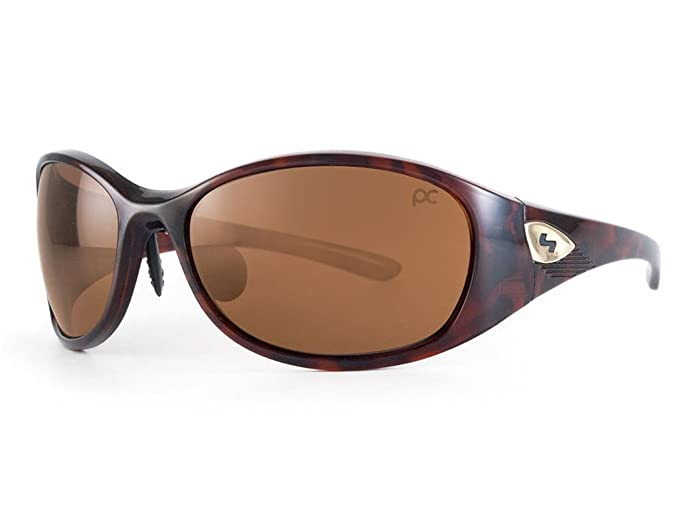 edbbd2a48ab6 Sundog Golf Ladies Paula Creamer Passion Trueblue Small Face Sunglasses  Brown with Brown Lens  Amazon.co.uk  Clothing