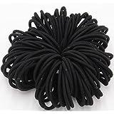 Bandes élastiques à cheveux épais Noir par Lizzy®