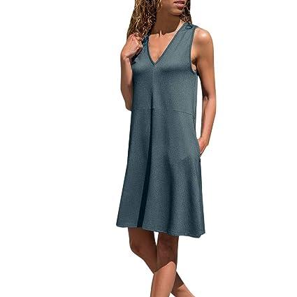 vestido de las mujeres, mini vestido de cami de las mujeres ...