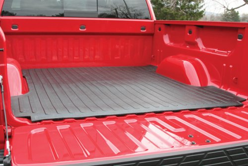 Truck Bed Mat For - Dodge - Ram Pickup - 2009-2018 - Black - 5.7 Ft Bed, Must be trimmed for the Ram Box (there are scribe lines)