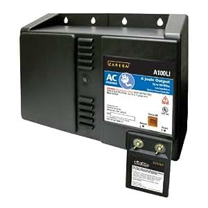 Zareba A100LI AC Powered Low Impedance 100 Mile Fence Charger
