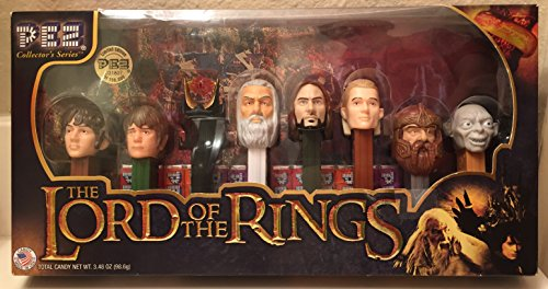 The Lord Of The Rings Walmart Limited Edition Eye Of Sauron Pez Collector's Series Dispensers