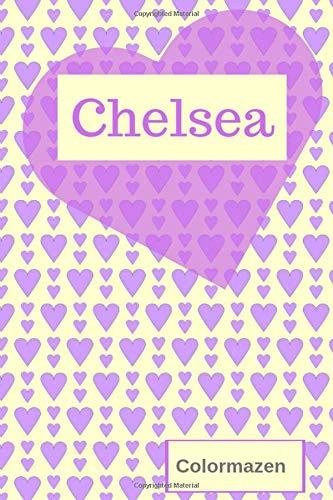 Chelsea Personalised Valentine Heart Notebook In Purple Small Valentine Heart Personalised Notebooks Colormazen Bell Carol 9781795294003 Amazon Com Books