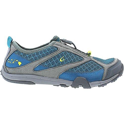 OLUKAI Eleu Trainer Shoe - Women's Sea Green/Charcoal 7