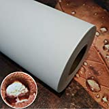 36''x40',2 Rolls,Digital Printing Waterproof Glossy Polyester Cotton Inkjet Art Canvas for EPSON, HP, Canon Water-Based(Aqueous) Printers
