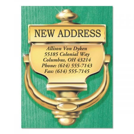 Colorful Images Classic New Address Postcards - Set of 24 5-1/4