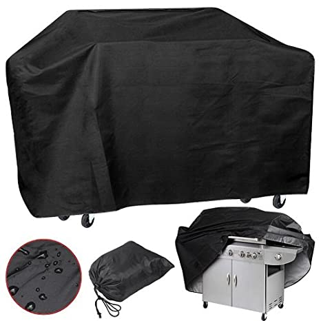 BP Global Veranda Grill Cover,57 Inches Portable Waterproof BBQ Cover For  Weber,