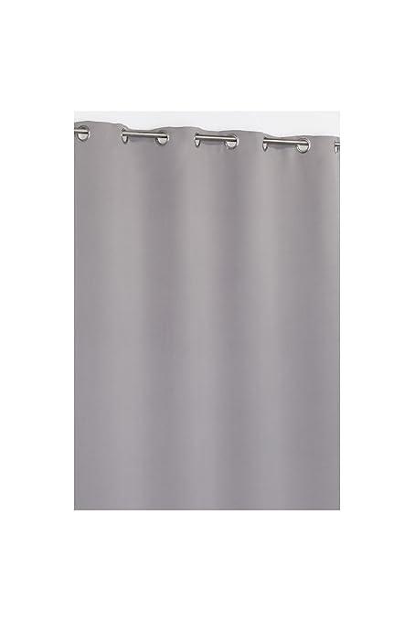 Pair of Essentiel Plain Curtains with Metal Eyelets 19 Colours 280cm Drop