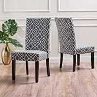 Christopher Knight Home 300297 Jami Dining Chair (Set of 2), Grey