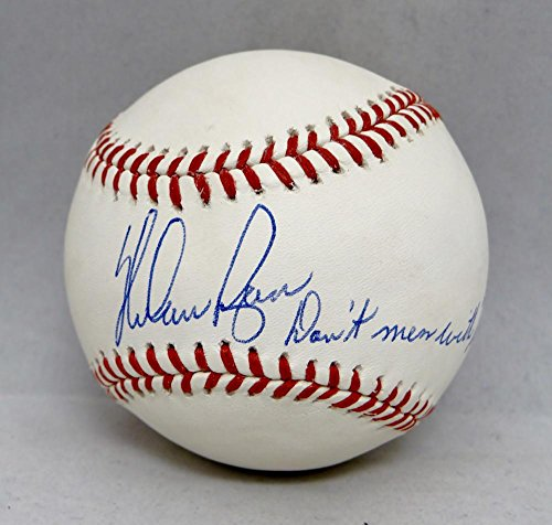 - Nolan Ryan Autographed Rawlings OML Baseball W/ Dont Mess With Texas- JSA Auth