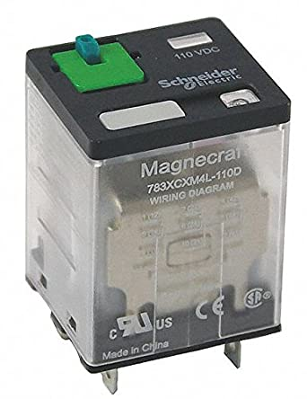 Schneider Electric 24vdc 11 Pin Square Base General Purpose General Purpose Relay Ac Contact Rating 15a 120v 12a Amazon Com Industrial Scientific