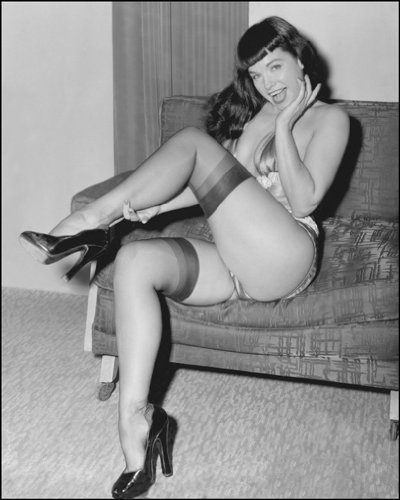 Betty Page Photo Print 13x19